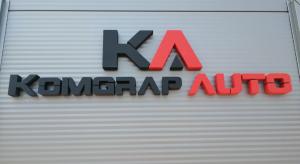 Logo partnerski tehnički pregled Komgrap auto
